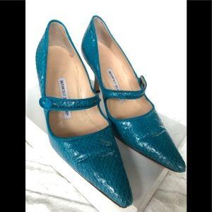 Manolo Blahnik Mary Jane shoes- size 36.5